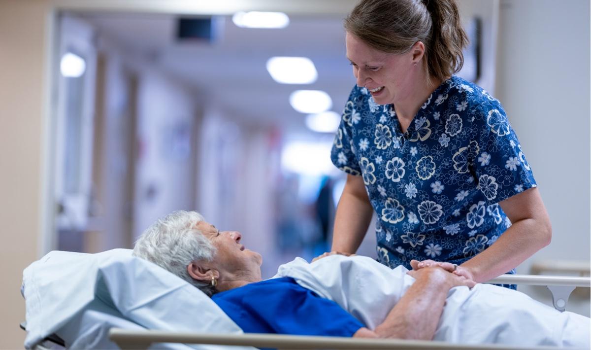 Nurse and Woman