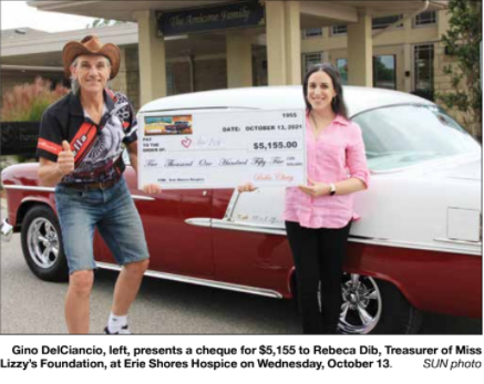 Honouring his late wife with large donation